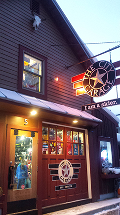 The City Garage Liberty Skis Featured Shop